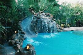 Slides Inside Your House On Pinterest Water Slides Pools And Soothing Backyard Waterfall Ideas Graceful Backyard Waterfall Ideas Traditional Vintage Kitchen Designs Trend Home Design And Decor Design Ideas Nj Custom Pool Natural Stone Waterfall Swimming Pool