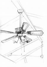 Ceiling Fan Sketch Drawing Pencil Paintingvalley Cedar Drawings Sketches Min Adidas Zx sketch template