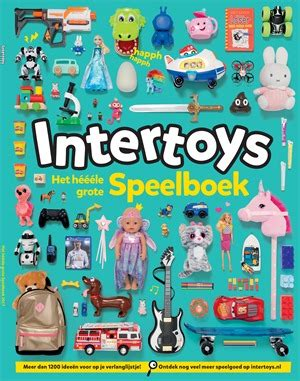 Speelgoed Folder Intertoys by Speelgoed Promoties Myshopi
