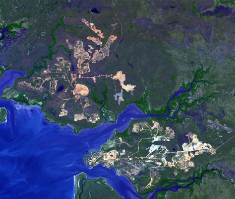 location bureau tours space images weipa queensland australia