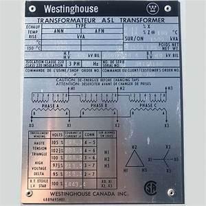 Westinghouse 1500 Kva Transformer