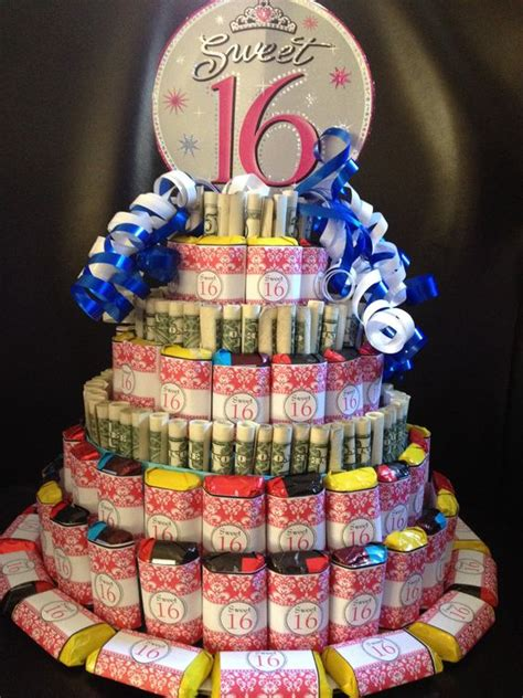 Money Anddy Cake Great Idea For Sweet   Ee  Birthday Ee   Or