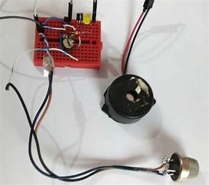 Simple Smoke Detector Alarm Circuit Diagram