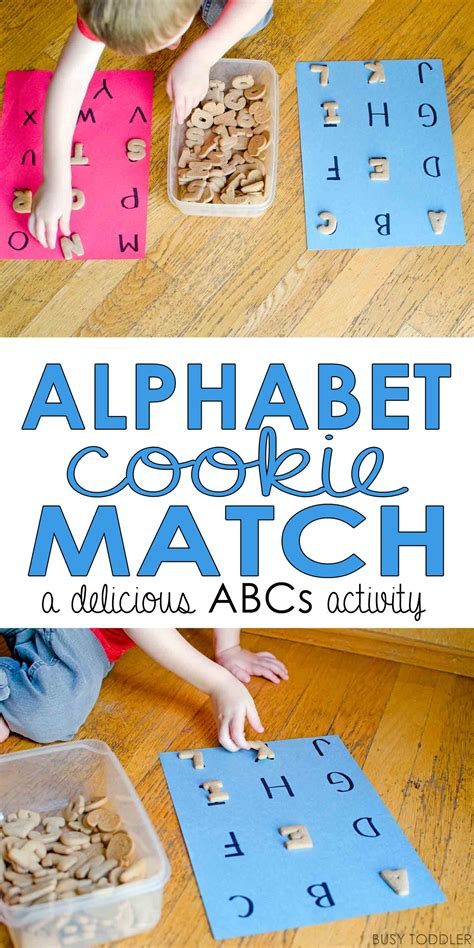 alphabet cookie match busy toddler 678 | abccookiePIN