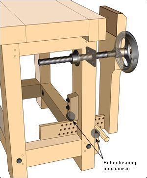 woodworking vise benchcrafted glide leg vise hardware