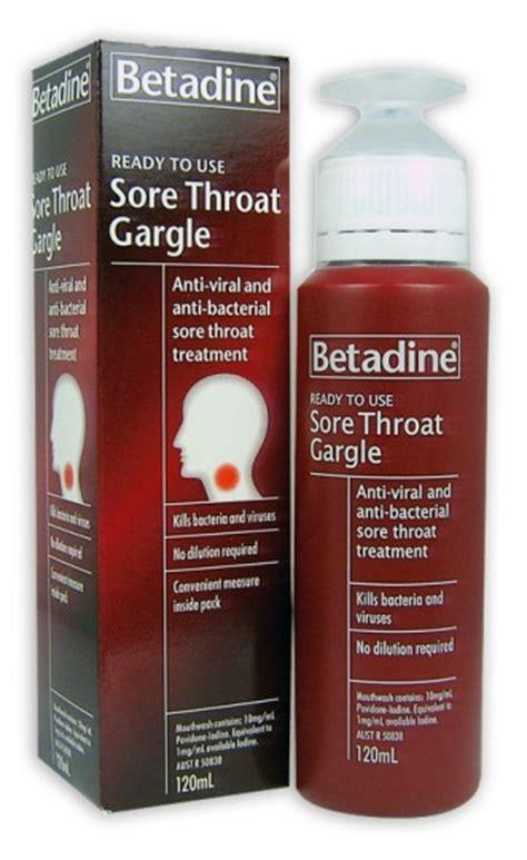 Buy Betadine Sore Throat Gargle Readymixed 120ml at Health