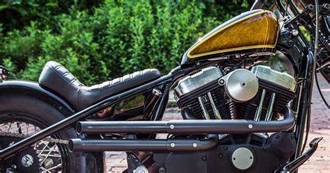 New Shotgun Exhaust Pipes For Harley Sportsters By Lowbrow