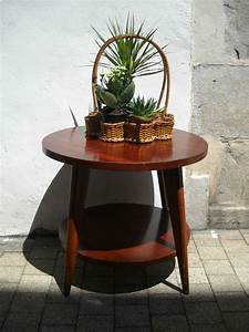 Table Pieds Compas : table basse ann es 50 pieds compas quiche lorraine vintage ~ Teatrodelosmanantiales.com Idées de Décoration