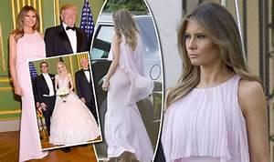 melania trump upstages bride louise linton at her wedding With louise linton wedding dress