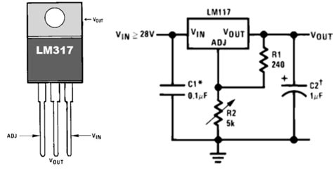 mini fuente regulada de voltaje con lm317 electronilab