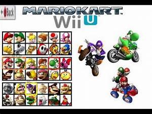 Mario Kart Wii U : mario kart wii u 8 character roster ideas youtube ~ Maxctalentgroup.com Avis de Voitures