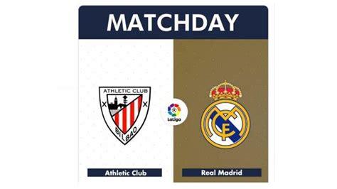 Live Streaming Liga Spanyol Athletic Bilbao Vs Real Madrid ...