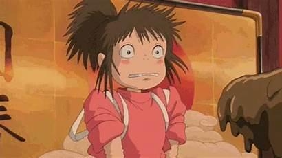 Spirited Away Chihiro Ghibli Gifs Sen Anime