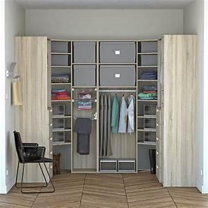 Dressing Leroy Merlin Modulable : dressing spaceo home effet ch ne leroy merlin ~ Zukunftsfamilie.com Idées de Décoration
