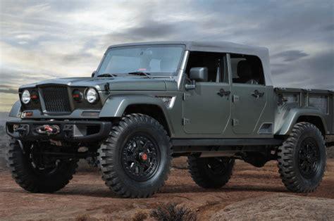 four door jeep jeep is a 4 door truck