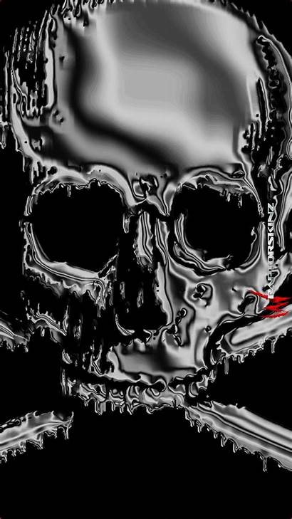 Skull Android Wallpapers Backgrounds Awesome Skeleton Tribal