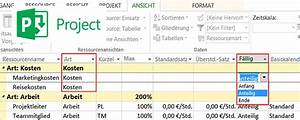 Hausbau Kosten Kalkulieren Excel : microsoft project kosten eintragen manuelles verteilen ~ Lizthompson.info Haus und Dekorationen