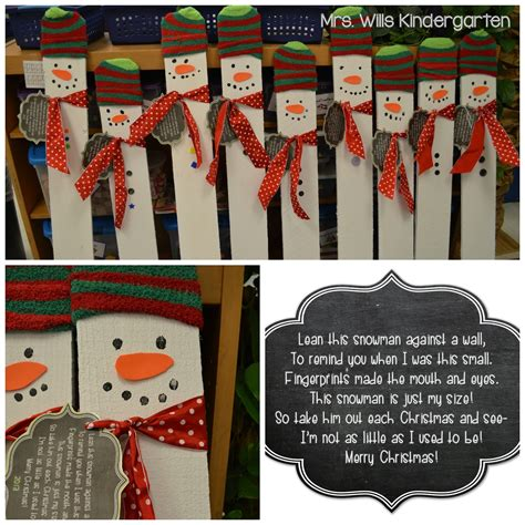 mrs wills kindergarten christmas projects done