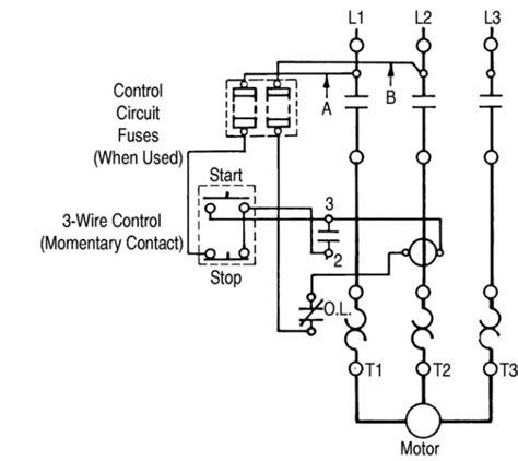 Westinghouse Motor Starter Wiring Diagram by Motor Starter Electrician Talk Professional