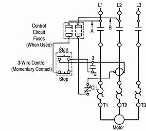 Motor Overload Wiring Diagrams