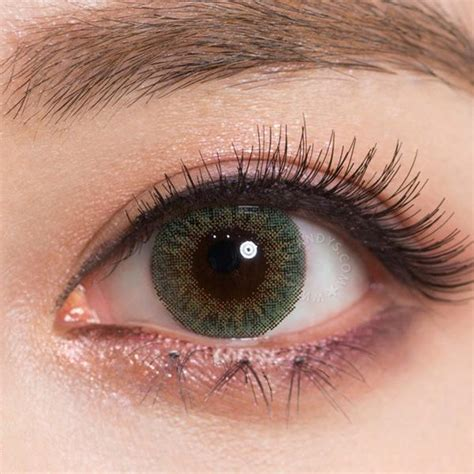 colored contact lenses buy geo tri color green colored contacts eyecandys