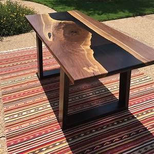 Table Resine Bois : resin river table ~ Teatrodelosmanantiales.com Idées de Décoration