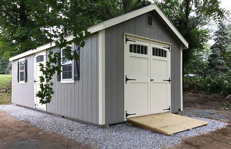 amish built sheds the barn raiser