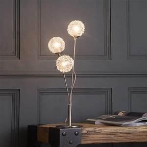 modern table lamp allium 3 light satin nickel from With allium 5 light satin nickel floor lamp
