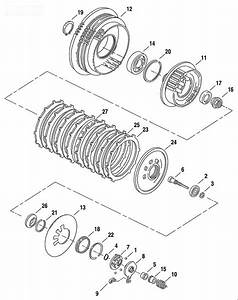 35 Sportster Clutch Diagram