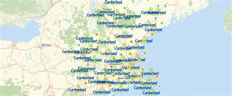Reshape Your Data Analysis with Cumberland Farms Locations Map