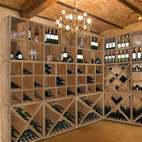 Weinregal Für Keller by Weinregal System Cavepro Wildeiche F 252 R Weinsch 228 Tze Im