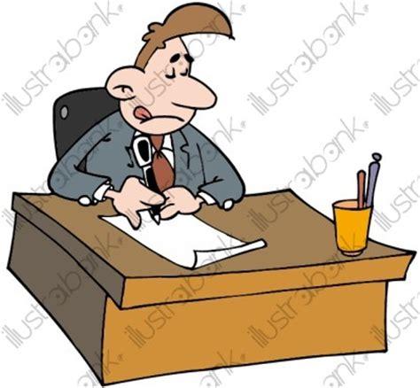 bureau directeur un proviseur illustration au bureau libre de droit sur