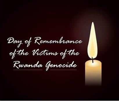 Rwanda Illustrations Genocide Clip Victims Remembrance Vector