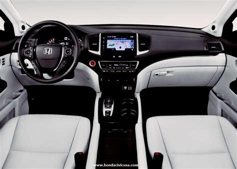 2018 Honda Pilot Elite Interior  Honda Civic Updates