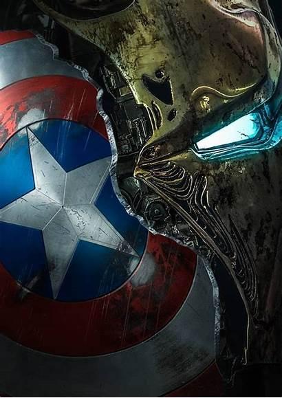 Marvel Avengers Broken Iron Mask Endgame America
