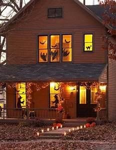 Decoration Halloween Maison : d coration halloween 16 inspirations en images pour d corer l ext rieur de votre maison ~ Voncanada.com Idées de Décoration