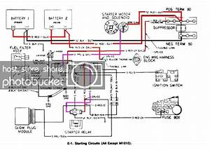 M1009 Will Not Start  Melted Fusible Link