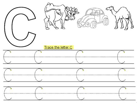 trace letter  printable kiddo shelter kids worksheets