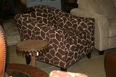 brown animal print accent chair the clayton design