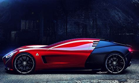 Twotone Alfa Romeo C18 Concept Car  Cool Material