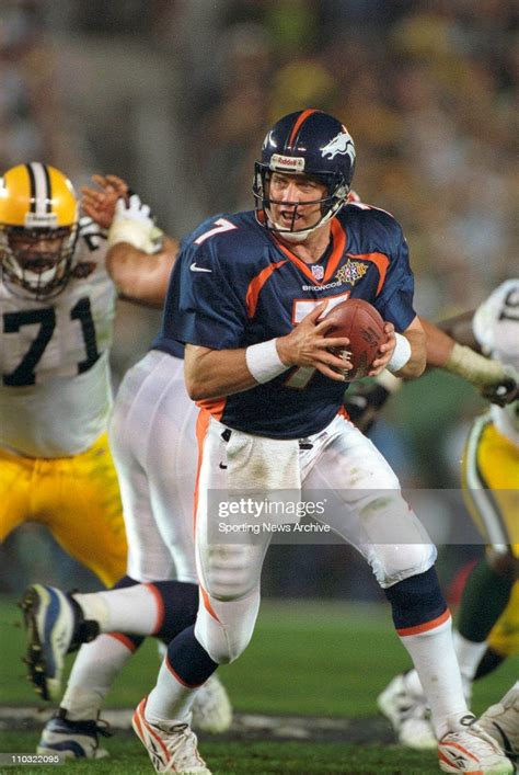 Denver Broncos John Elway On Jan 25 1998 In Super Bowl