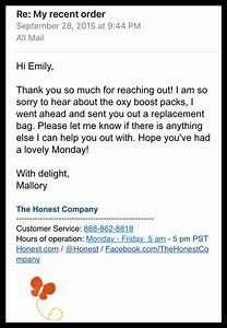 improve your customer service emails with 4 simple edits With work from home mailing letters