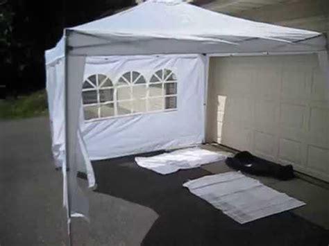 ez pop  canopy tent youtube