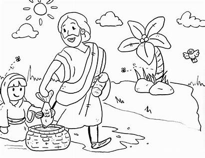 Coloring Bible Character Colouring