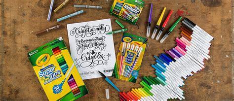 #crayoligraphy