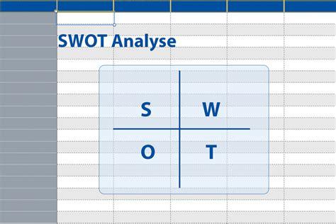 swot analyse matrix mit excel vorlage und beispiel