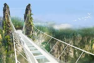 World's longest and highest glass bridge to open next ...