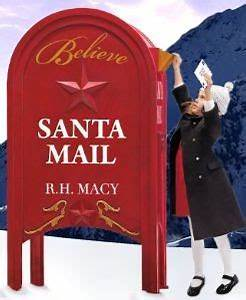 my vegas mommy mailing letters to santa macy39s With mailbox for letters to santa