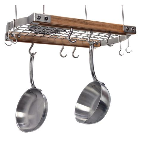 Small Pan Rack by Brunswick Ceiling Pot Rack Cabin Tchotchke