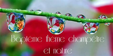 decoration champetre  nature